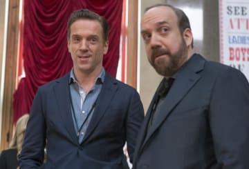 「ビリオンズ」シーズン1よりダミアン・ルイス&ポール・ジアマッティ - Showtime Networks / Photofest / ゲッティ イメージズ