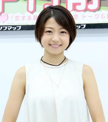 DVD&BD「恋する静香」の発売記念イベントを行った中村静香さん