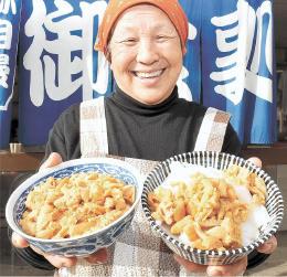 柳田良子(やなぎだ・りょうこ)1948年青森県浪岡町(現青森市)生まれ。村出身の夫の元に嫁ぎ、74年から現店舗を構える。