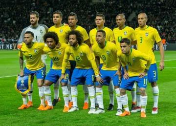 4大会ぶりの優勝を狙うブラジル代表の面々 photo/Getty Images