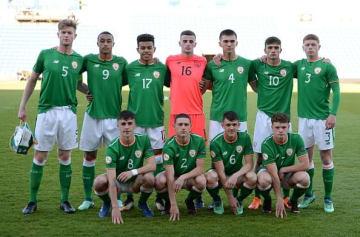 敗退の憂き目に遭ったU17アイルランド代表の面々 photo/Getty Images