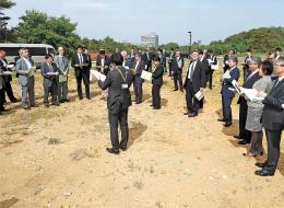 次世代型放射光施設の整備候補地で行われた現地調査