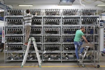 ビットコインの電力消費が増大