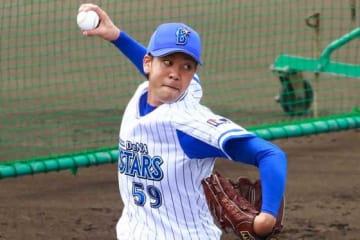 今季初登板初先発となるDeNA・平良拳太郎【写真:荒川祐史】