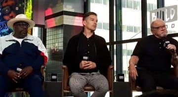 左から、セドリック・ジ・エンターテイナー、イーサン・ホーク、ポール・シュレイダー監督