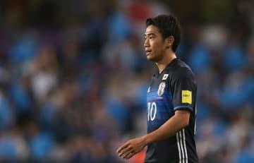 日本代表復帰を果たした香川真司 photo/Getty Images