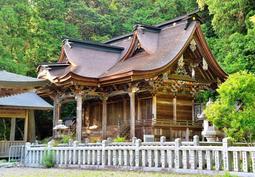 精緻な彫刻や彩色が美しい高座神社の本殿=丹波市山南町谷川(撮影・中西幸大)