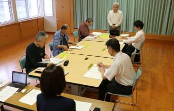 記念行事の日程やタイトルなどを決めた実行委=五島市福江総合福祉保健センター