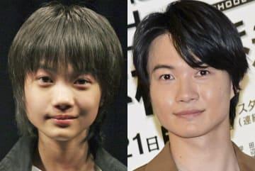 祝・25歳!12歳の神木くんと25歳目前の神木くんを並べてみました。(左は2005年10月、右は今年4月撮影) - Junko Kimura / Getty Images