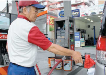 原油の高騰により県内でガソリン価格が上昇している=大分市