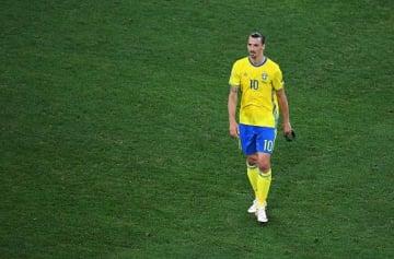 スウェーデン代表復帰が噂されたイブラヒモビッチ photo/Getty Images