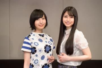 海外ドラマ「スクール・オブ・ロック」の日本語吹き替え版に声優として出演する佐倉綾音さん(左)と雨宮天さん=NHK提供
