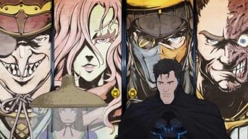 劇場版アニメ「ニンジャバットマン」の一場面 BATMAN and all related characters and elements (C) & TM DC Comics. (C) 2018 Warner Bros. Entertainment All rights reserved.