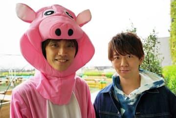 ▲左から番組MC:吉田尚記アナウンサー、木村良平さん