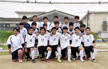 1年生が16人加入して活気づいているサッカー部