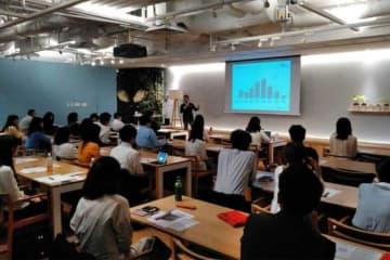 丸の内朝大学「野球の魅力再発見」クラスの第3回講義が開催された【写真:(C)PLM】