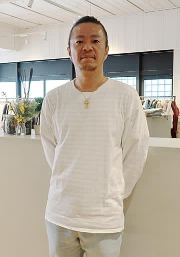「SDGsを難しく考えるのではなく、楽しく取り組めるようにしたい」と話す山野社長=大阪市中央区の「For it」
