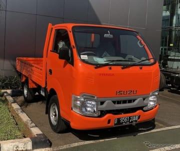 いすゞ自動車のインドネシア向けトラック『TRAGA(テラガ)』