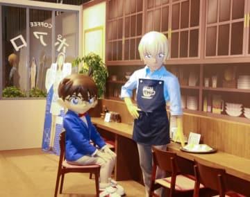 安室さんがバイトする「喫茶ポアロ」でパシャリ!ハムサンドもあるよ!