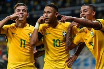 今回のブラジル代表は恐ろしい強さ photo/Getty Images