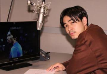 番組「ノンフィクションW 柴崎岳 25歳 プロサッカー選手」の収録後会見した成田凌さん