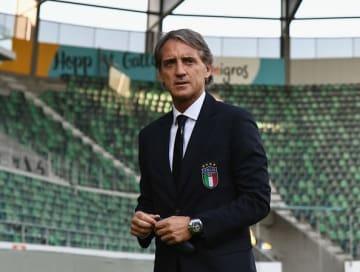 イタリア代表の未来を託されたマンチーニ監督 photo/Getty Images