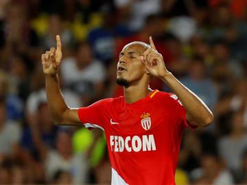 リバプールへの移籍が決まったファビーニョ=17年8月、モナコ(ロイター=共同)