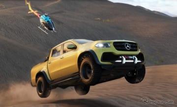 新ドライビングゲーム『ザ クルー2』に起用されるメルセデス X クラス