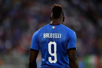 イタリア代表を復活へ導くのはこの男か。復帰戦でゴールを決めたバロテッリ photo/Getty Images