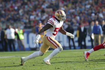 サンフランシスコ・49ersのルービン・フォースター【Terrell Lloyd via AP Images】