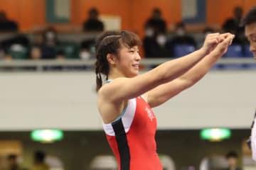 階級を変えての全日本チャンピオンを目指す川井友香子
