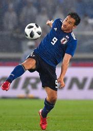 日本代表・岡崎慎司