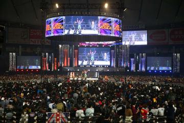 満員の東京ドーム 新日本プロレス提供