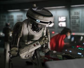 映画「ハン・ソロ/スター・ウォーズ・ストーリー」に登場する女性型ドロイドL3‐37 (C)2018 Lucasfilm Ltd. All Rights Reserved.