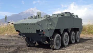 開発計画が白紙になった新型装輪装甲車の試作品(防衛装備庁の資料から)