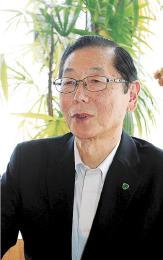 日本パークゴルフ協会の副会長に就任した米木さん