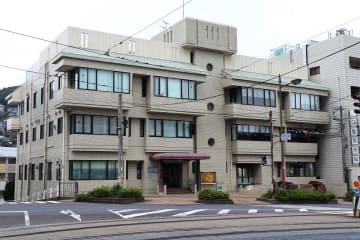 7月に設立から70年となる放影研長崎研究所=長崎市中川1丁目