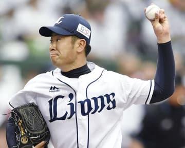 7回3失点で5勝目を挙げた西武・榎田=メットライフドーム