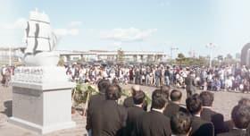 盛大に行われた「プロビデンス室蘭来航200年祭」(平成8年9月28日撮影)