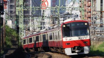 京急 2100形電車 モーニング ウィング1号 品川行 京急本線 神奈川 仲木戸
