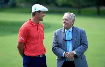 ゴルフ科学者デシャンボー(左)がニクラスのもとで新たな歴史を刻んだ(撮影:GettyImages)