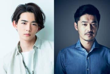 「島耕作」スピンオフドラマでヒロインの部下役を演じる竜星涼と、恋人役の平山浩行