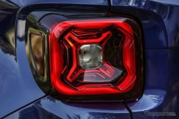 ジープ・レネゲード の改良新型モデルのティザーイメージ