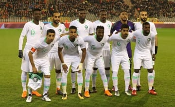 W杯に臨むサウジアラビア代表 photo/Getty Images