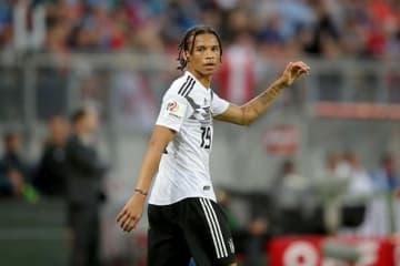 ドイツ代表の登録メンバー入りを逃したサネ photo/Getty Images