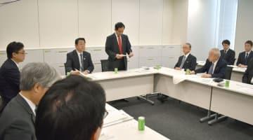 3月、国会で開かれた九州新幹線長崎ルートの与党検討委員会