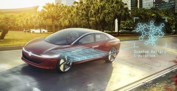 フォルクスワーゲンの電動車向けの次世代バッテリーのイメージ