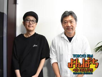 是枝裕和監督(右)とリリー・フランキーさん