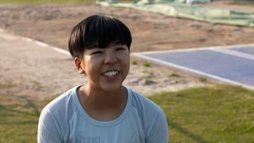 前川楓選手 (陸上 走り幅跳び)