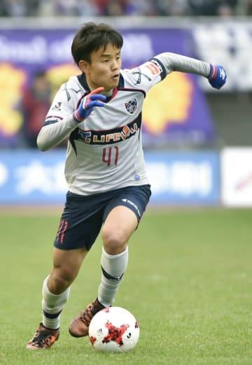 FC Tokyo's Kubo makes J1 debut
